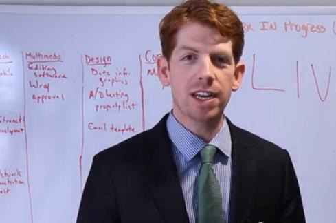 Matthew Burton, as seen in a Consumer Financial Protection Bureau video.