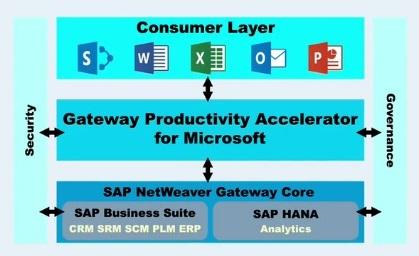 The SAP Gateway for Microsoft now extends data access from the Office suite, including Excel, into BusinessObjects Universe data models.