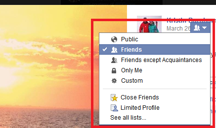 how to change photo in facebook