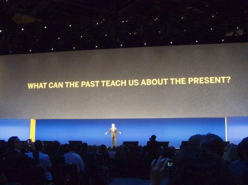 SAP CEO Bill McDermott opens Sapphire 2015 with his keynote address  (Image: Curtis Franklin, Jr., for InformationWeek)