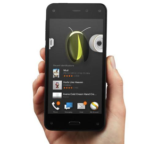 The Fire Phone's Firefly feature, which has its own button on the side of the phone, identifies movies, songs, and products.