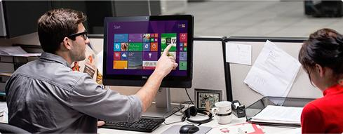 Dell's security-minded Optiplex 9030 can run either Windows 7 or Windows 8.1, and is available in both touch and non-touch configurations.
