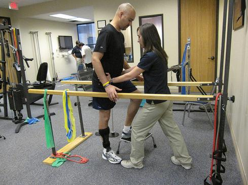 Physical therapy is playing a bigger role in more patients' lives.(Image: Roger Mommaerts/Flickr)