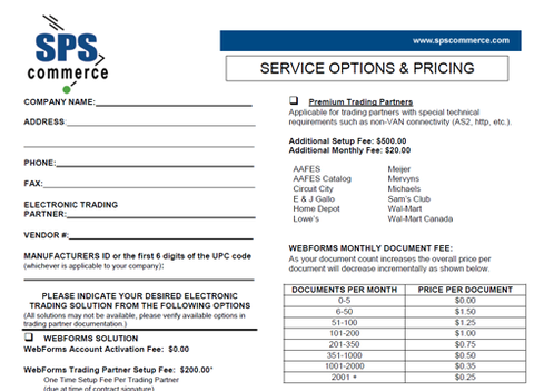 Some of West Marine's trading partners had to pay hefty testing fees to SPS Commerce.