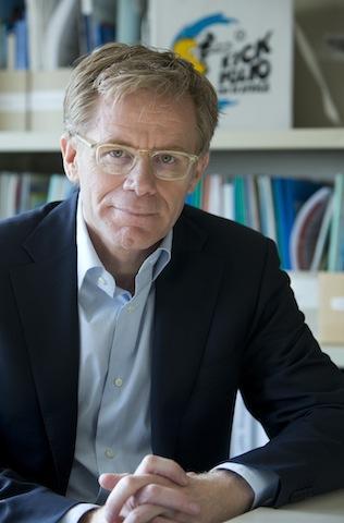 Dr. Bruce Aylward has worked on polio eradication for 20 years. (Image: World Health Organization)