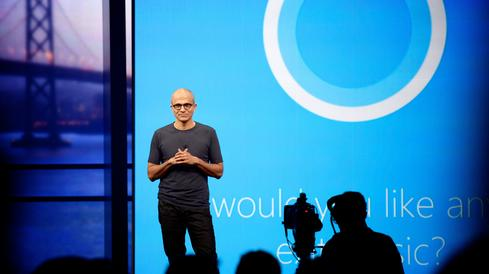Nadella has hyped Cortana and other contextually-aware technologies as game changers but Microsoft still has to prove its vision.