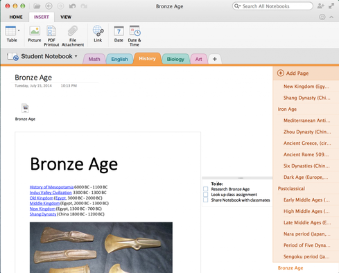 Microsoft Enhances OneNote for Mac, iOS - InformationWeek