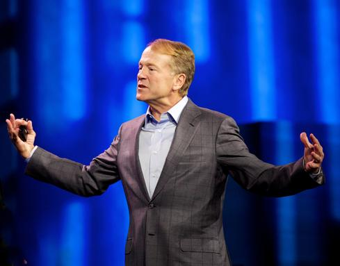 Cisco CEO John Chambers at CES in January