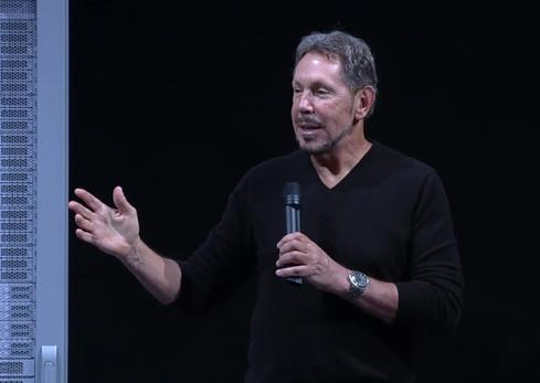 Oracle CEO Larry Ellison discusses the 12c in-memory option expected to be released in July.