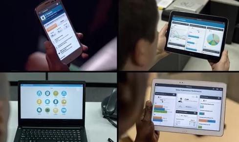 Workday Composite Reporting incorporates mobile support including a notebook mode for use in meetings and boardroom presentations.