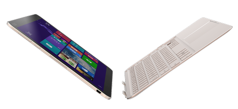 The ultra-thin Asus Transfomer Book T300 Chi, which will hit the market in coming months, was the first Core M device revealed.