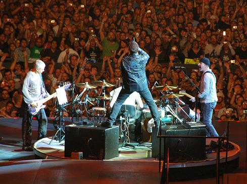 Touring, not record sales, is U2's bread and butter. 