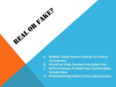 Real or fake?