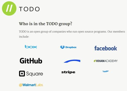 Facebook's new Talk Open, Develop Open (TODO) group boasts high-profile supporters.
