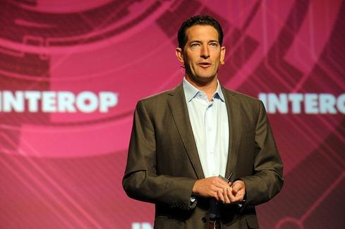 Steve Herrod speaking at Interop in 2012.