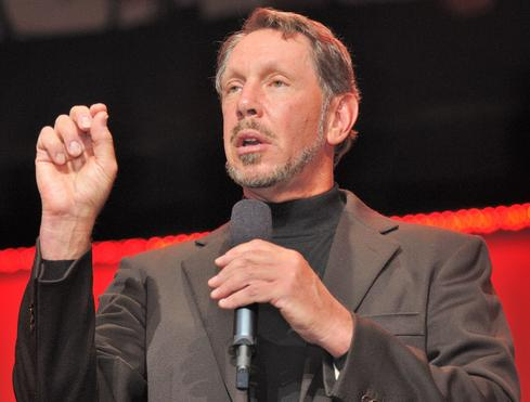 Oracle executive chairman and CTO Larry Ellison