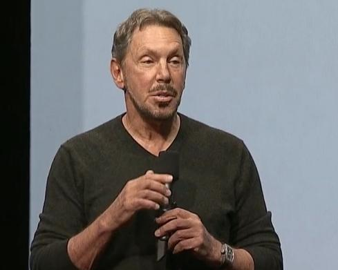 Larry Ellison, recently named Executive Chairman and CTO, delivers the opening keynote at Oracle OpenWorld 2014.