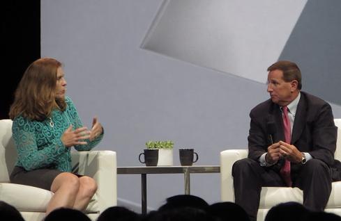 Intel CIO Kim Stevenson praised Oracle's acquisitions of Eloqua and BlueKai.