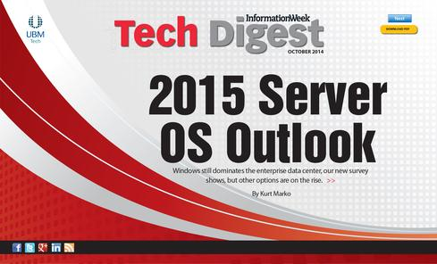 2015 Server OS Outlook: Cloudy, Chance Of Containers - InformationWeek
