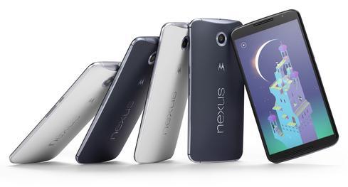 Nexus 6 smartphone