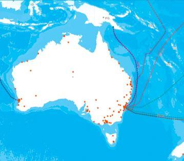 Australia's vCloud services will be delivered from Telstra data centers in Melbourne. (Source: Telstra)
