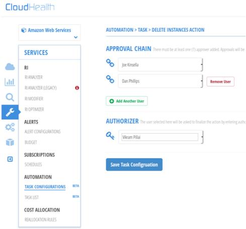 Automated Tasks simplifies Amazon Reserved Instance management, says CloudHealth.