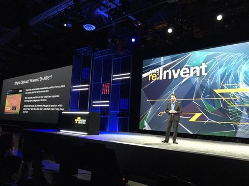 MLB's CTO Joe Inzerillo at Re:Invent.