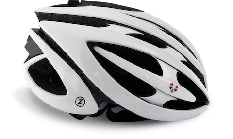 LifeBeam Helmet Designed for cyclists, the LifeBeam Helmet measures heart rate, calories, and performance without a chest strap. Users can wear the device, which looks like a racing helmet, in all weather, according to the developer. Price: $229.00 Colors: Black/white Features: With its Lazer Genesis design, the LifeBeam Helmet allows cyclists to measure their heart rate and calorie consumption without wearing a chest strap. The biosensing helmet pairs with most fitness apps or devices and meets US and European certifications. In addition to analyzing riders' performance by transmitting data via Bluetooth and ANT 4.0, it protects users' heads. Pros: Provides head protection and basic performance information in one device; interoperable with most apps and devices; adds features and capabilities; users rave about its comfort Cons: Does not track noncycling metrics such as sleep and calorie consumption More information: LifeBeam Helmet  (Source: LifeBeam)