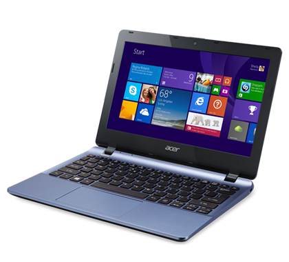 Acer Aspire E-11, $199This laptop offers a familiar clamshell design in a fairly portable and affordable package. Its 11.6-inch, 1366-pixel-by-768-pixel screen doesn't support touch, and its battery life is rated at a short five hours. But with a dual-core Intel Celeron processor, a 32-GB solid state drive for internal storage, USB ports, and a relatively light weight of 2.84 pounds, the Aspire E-11 could be a good laptop for budget minders.