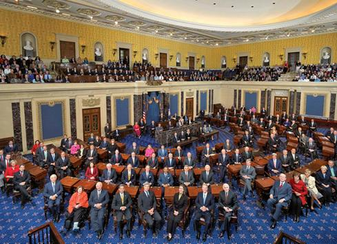 111th US Senate class photo.