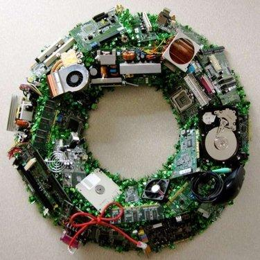 11 Ways To Deck The Halls With Recycled Tech
