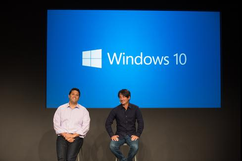 Microsoft corporate VPs Terry Myerson, left, and Joe Belfiore, right, are expected to speak at Microsoft's January Windows 10 event.