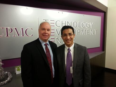 UPMC CIO Ed McCallister and Chief Innovation Officer Dr. Rasu Shrestha