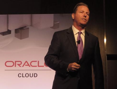 Shawn Price, Oracle senior VP, global cloud.