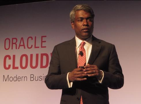Thomas Kurian, Oracle president, product development.