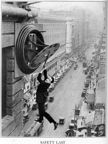 Myth: You don't know how to do anything.  Show confidence that you can get something done on a deadline. Hit your deadline. Have a problem? Try going to a teammate instead of the boss. Show that you can take initiative without the boss holding your hand. You've got this.  (Image: Harold Lloyd)