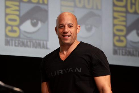 Vin Diesel  You might know him as a tough guy, but Vin Diesel has been playing Dungeons and Dragons since the 1970s. In addition to having one of his character's names -- 'Melkor' -- tattooed near his belly button, Vin Diesel was tapped to pen the foreword for the book 30 Years of Adventure: A Celebration of Dungeons and Dragons.  (Image source: Wikimedia Commons)