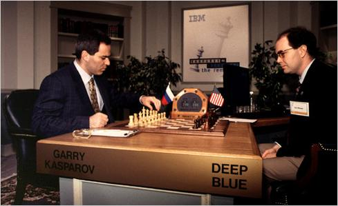 (Image: No comparison: Kasparov versus Deep Blue via Stanford University)