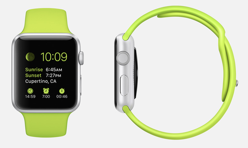 It's Customizable In an effort to appeal to the broad iOS user base, Apple Watch will come in a range of materials, including aluminum, stainless steel, and 18-karat gold, which will support 11 different watch face designs. Users can also choose from a variety of bands, making the watch as much of a fashion accessory as it is a tech device. You can browse the Apple Watch models here.  (Image: Apple)