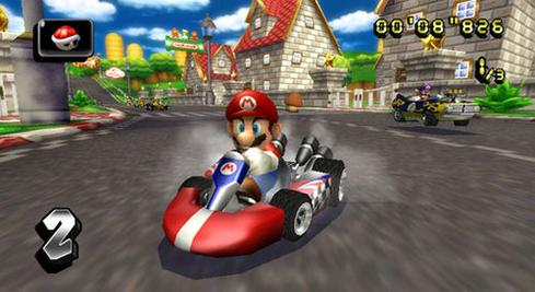 Mario Kart  This is the obvious first choice. Mario Kart is routinely among the top-selling games of the year, and the top selling game for each generation of Nintendo platform. As of March 2014, various versions of Mario Kart sold a combined 100 million units. Kart also fits nicely into a mobile gaming system. Steering can be accomplished easily with the gyroscope built into the device. Games can easily be linked using WiFi for worldwide multiplayer functionality. Here's some insight into the potential for Mario Kart on mobile: 50% of Wii U owners own a copy of Mario Kart 8. Over a third of Wii owners had the Wii version. Imagine if you could get even 10% of the world's 2 billion smartphone owners to play it.  (Image: Nintendo)