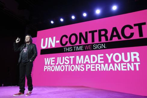 T-Mobile CEO John Legere (Image: T-Mobile)