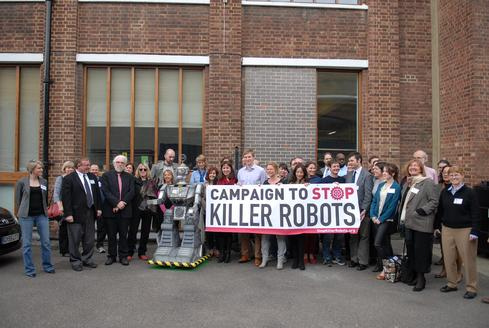 (Image: The Campaign to Stop Killer Robots via Flickr)