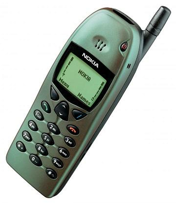 Back to the future: The Nokia 6110 GSM phone from 1998.