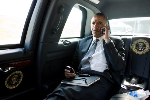 Mr. President, who's listening in on your calls? (Image: White House Photo by Pete Souza)