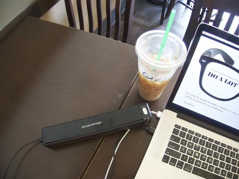 A Scanner in your backpack.