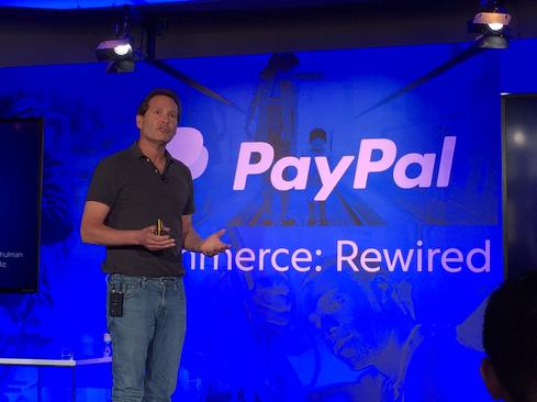 Incoming CEO Dan Schulman is broadening PayPal's plans  (Image: Thomas Claburn)