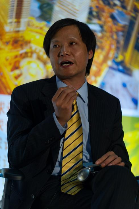 10. Lei Jun, Xiaomi CEO Lei has presided over a meteoric rise. In just five years, Xiaomi is the third largest smartphone distributor in the world, despite scant resence in developed markets such as the US and Europe. Unlike Apple, which charges a premium for its handsets, Xiaomi makes little to no money on phones, and instead makes it up in software. Xiaomi began launching its US and European online stores on May 28, and is poised to make a major splash in the next year. Lei is probably the least famous person (at least outside China) on this list, and yet he might be curiously under-ranked.  (Image: Fortune Live Media via Flickr)