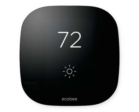 One of the first HomeKit products, the Ecobee Thermostat.  (Image: Ecobee)