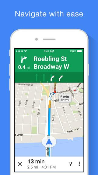 Google Maps Still the king of mapping apps, Google Maps boasts live traffic conditions, incident reports, and automatic rerouting to find the best route, detailed information on more than 100 million places, and Street View and indoor imagery for restaurants, museums, and more. The app also boasts voice-guided GPS navigation for driving, biking, and walking.