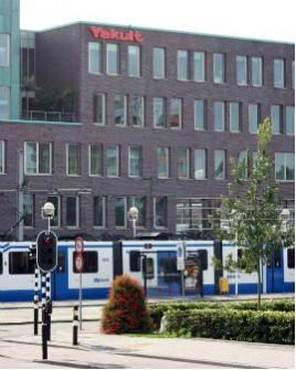 Yakult headquarters in The Netherlands.